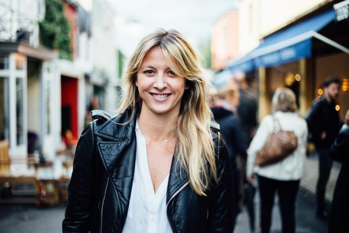 Sarah Lavoine, architecte et designer Photo : Lucie Sassiat