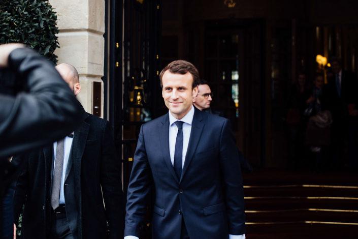 Emmanuel Macron, Président de la République Photo : Lucie Sassiat