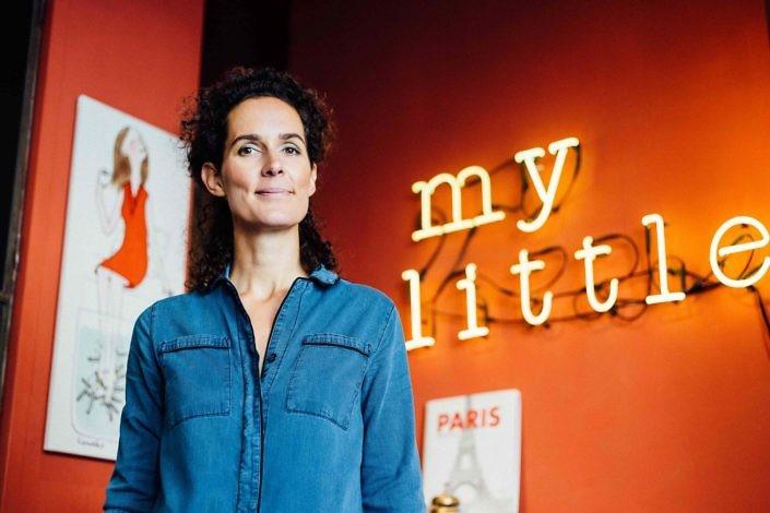 Céline Orjubin , fondatrice de My little Paris pour le magazine Les Confettis Photo : Lucie Sassiat